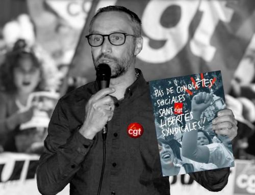 STOP à la criminalisation syndicale
